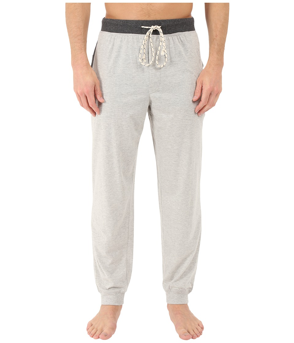 Kenneth Cole Reaction - Cuffed Pants (Light Grey Heather) Men's Pajama