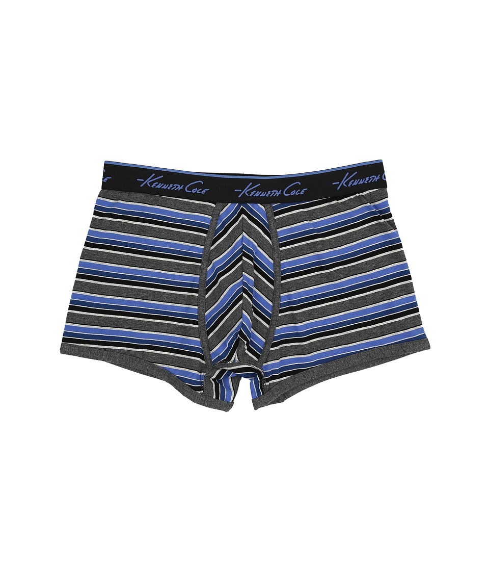 Kenneth Cole Reaction - Trunk (Berry Blue/Spring Stripe) Men's Underwear