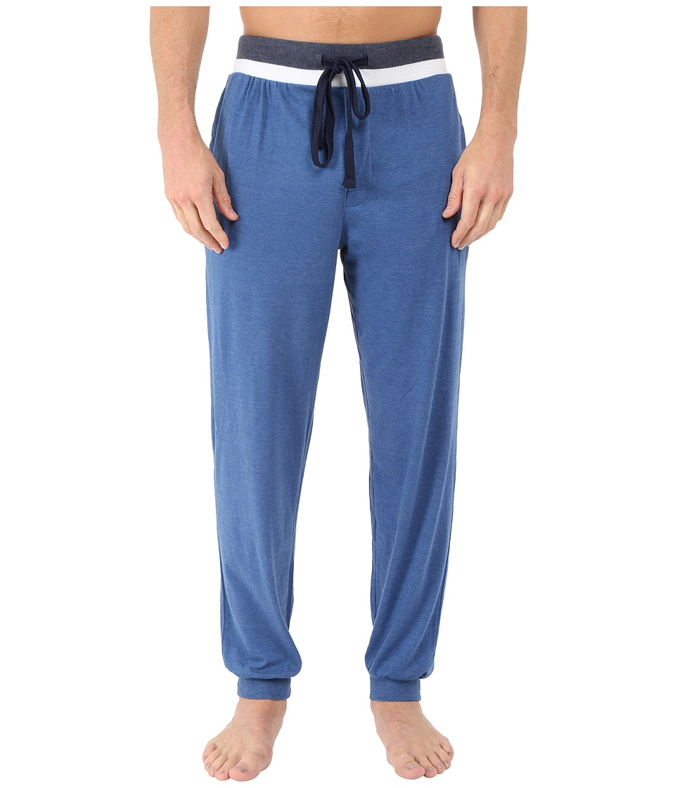 Kenneth Cole Reaction - Banded Pants (Dark Blue) Men's Pajama