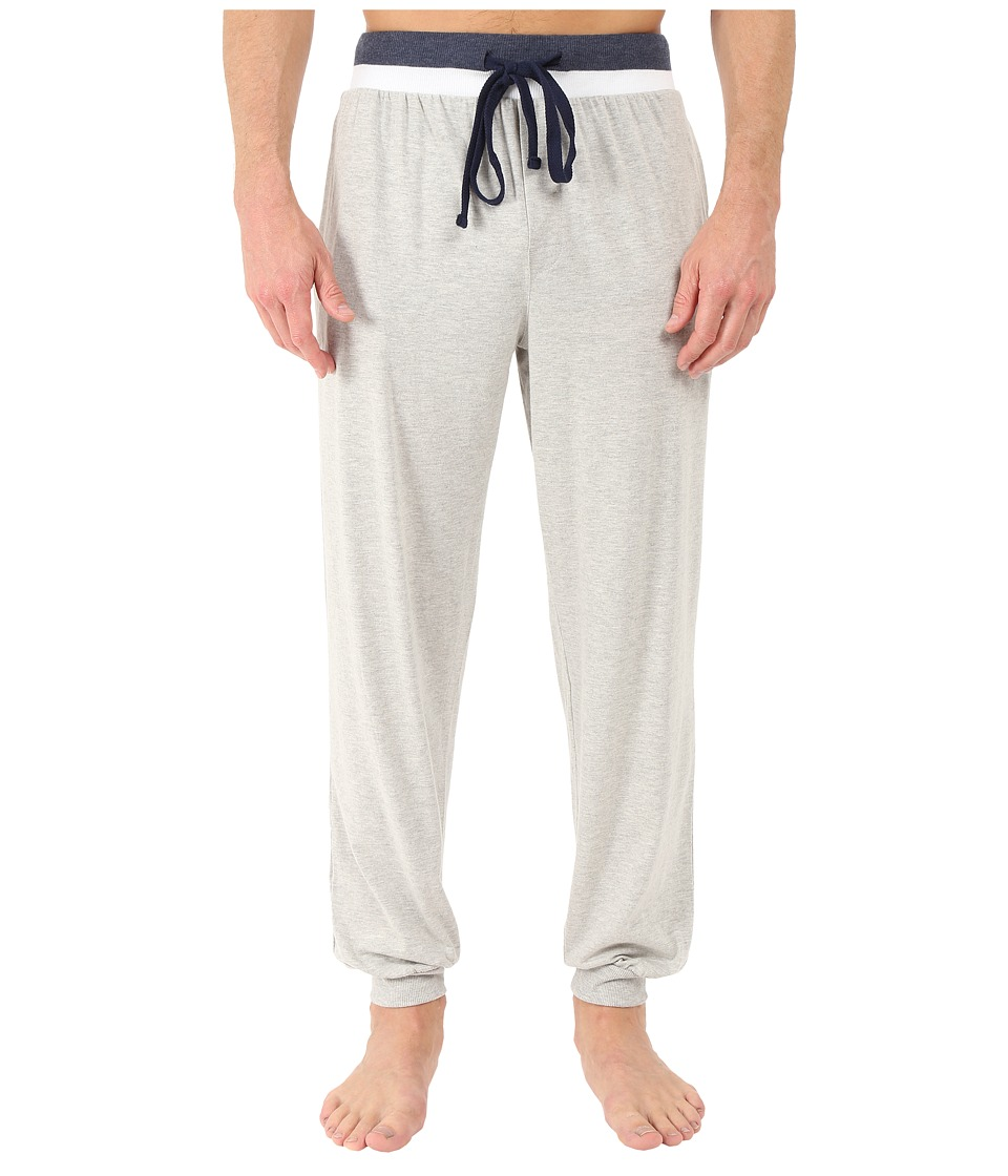 Kenneth Cole Reaction - Banded Pants (Light Grey Heather) Men's Pajama