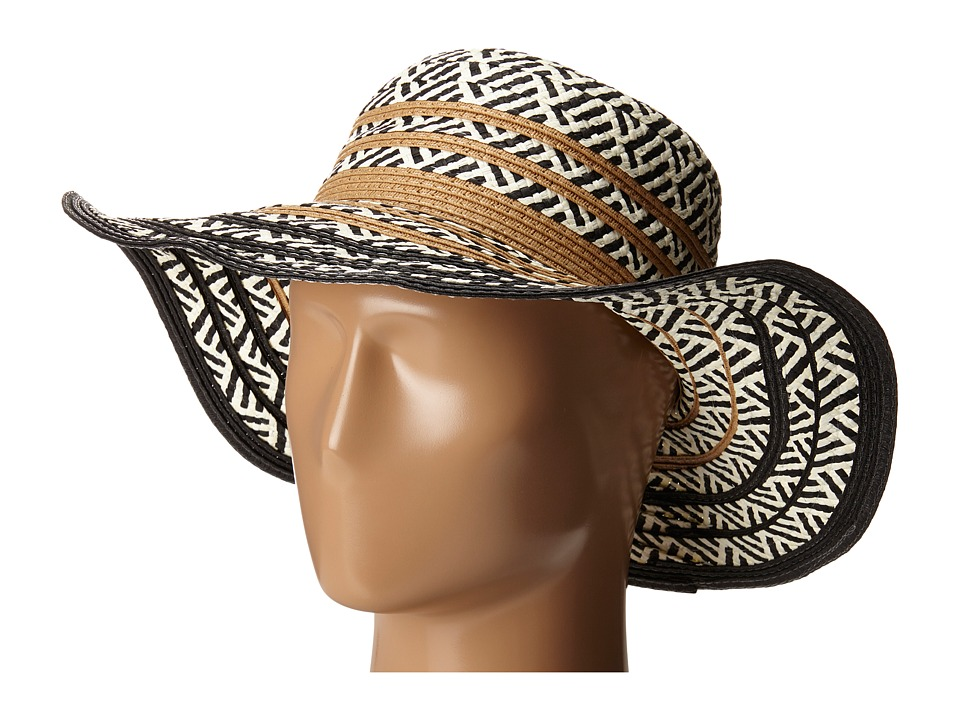 Steve Madden - Tribal Floppy Hat (Natural) Caps