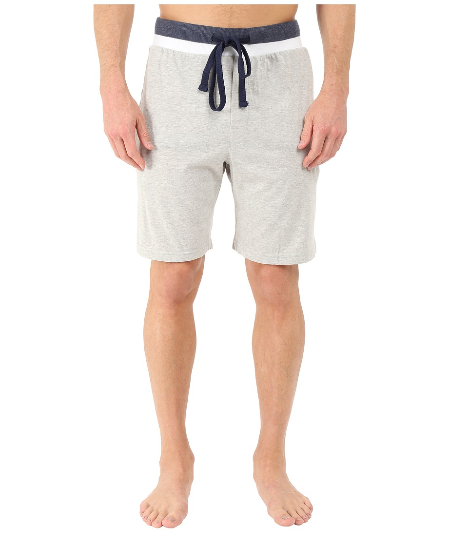 Kenneth Cole Reaction - Sleep Shorts (Light Grey Heather) Men's Pajama