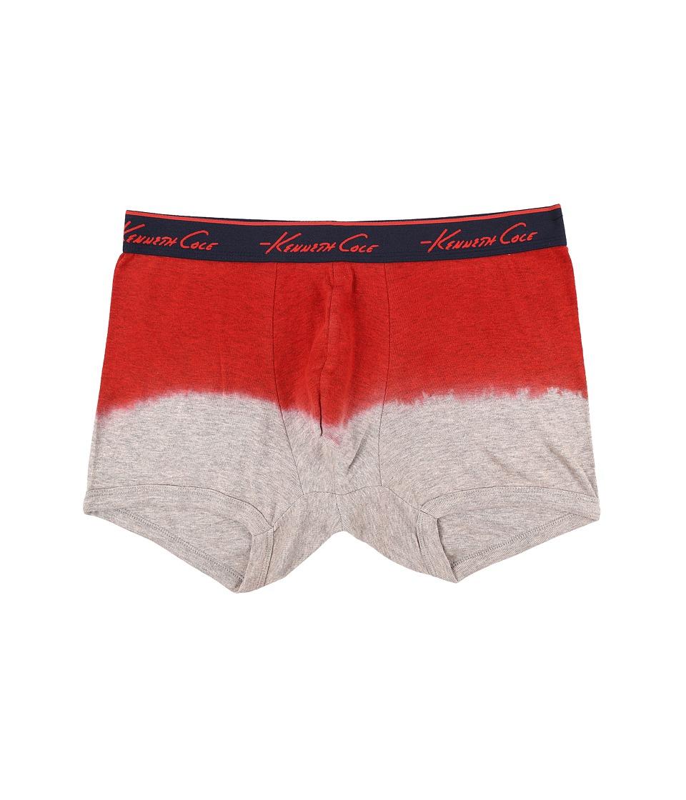 Kenneth Cole Reaction - Heather Trunk (Coral Heather) Men's Underwear
