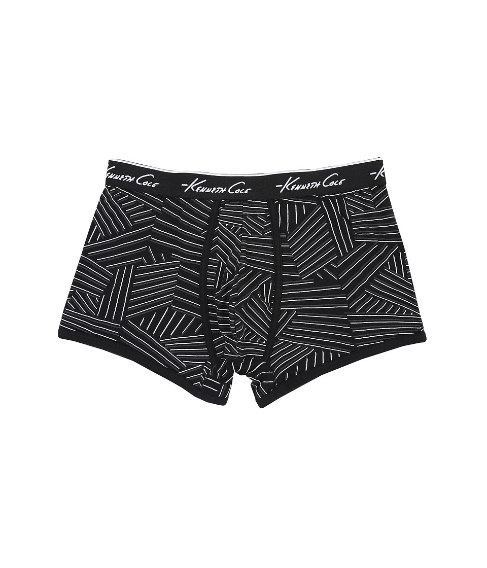 Kenneth Cole Reaction - Trunk (Black Pin Stripe) Men's Underwear
