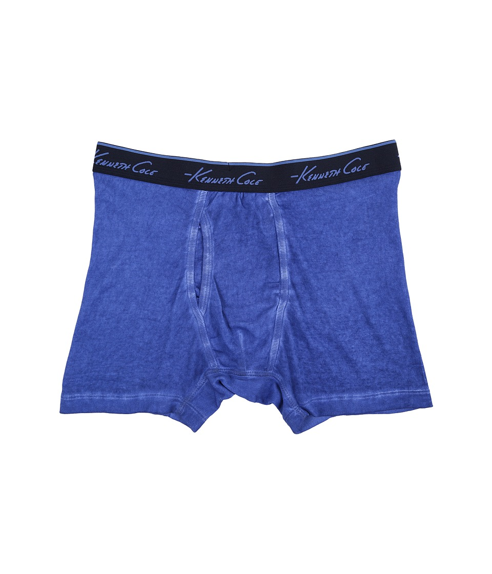 Kenneth Cole Reaction - Garment Dye (Berry Blue) Men's Underwear