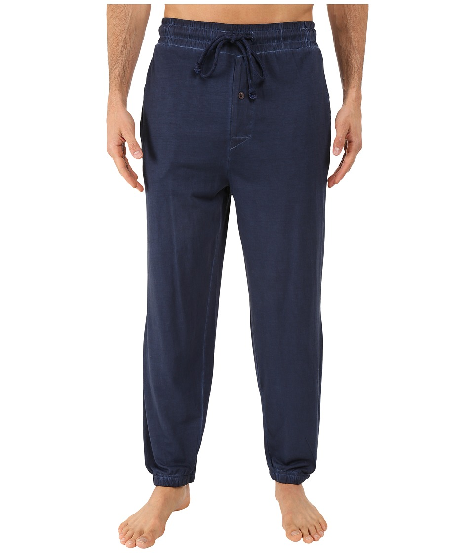 Kenneth Cole Reaction - Knit Pants (Navy) Men's Pajama