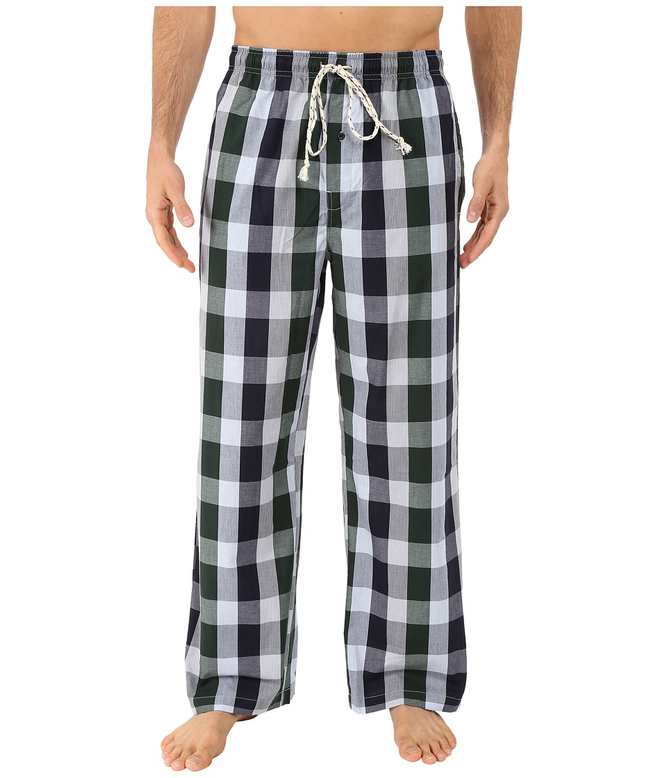Kenneth Cole Reaction - Woven Pants (Green Tremont Plaid) Men's Pajama