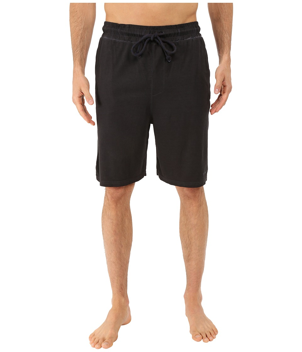 Kenneth Cole Reaction - Sleep Shorts (Black) Men's Pajama