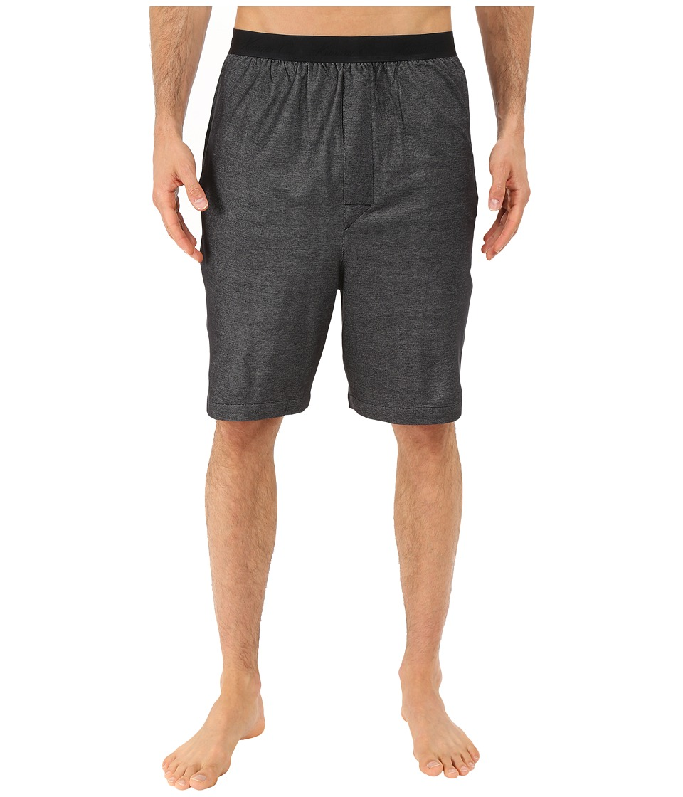 Kenneth Cole Reaction - Pique Shorts (Black Pique) Men's Pajama