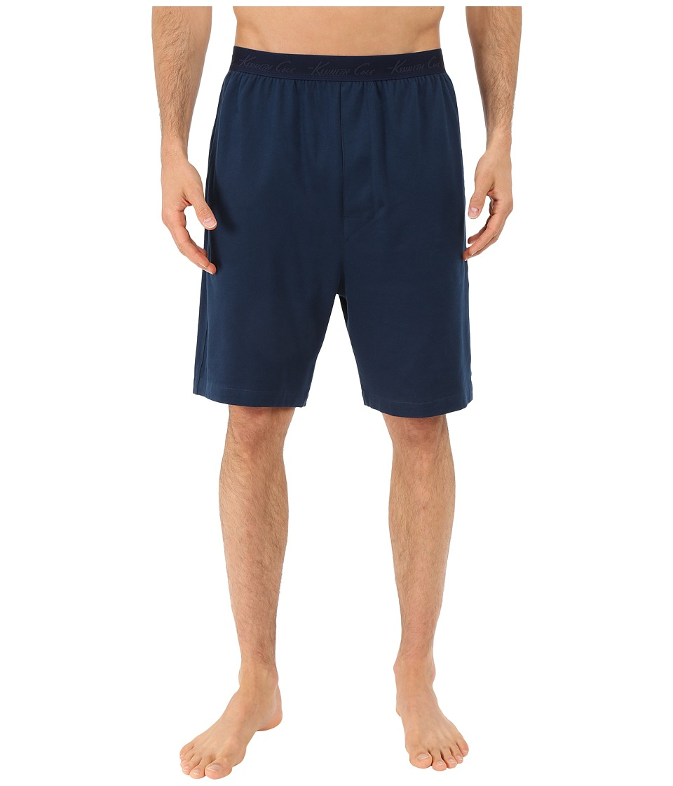 Kenneth Cole Reaction - Pique Shorts (Navy Pique) Men's Pajama