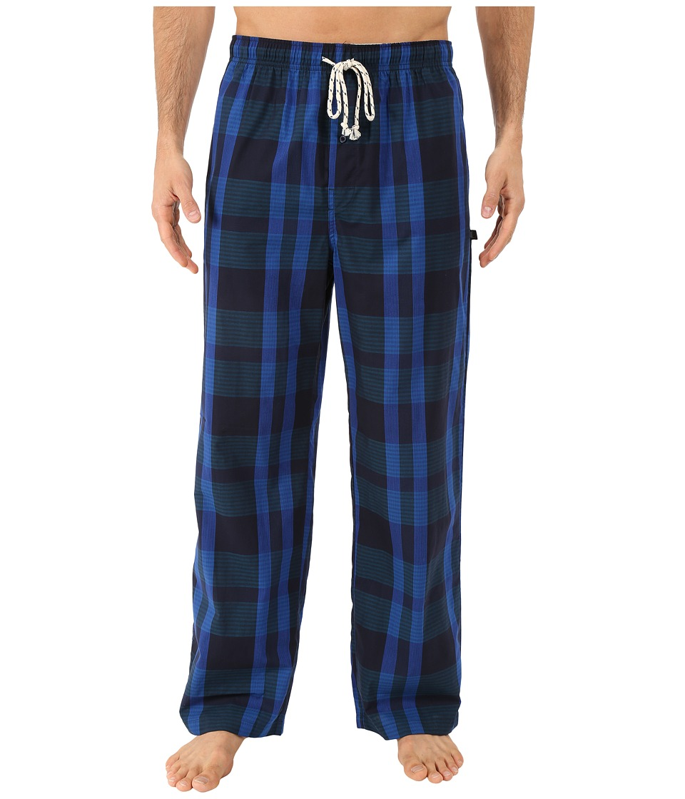 Kenneth Cole Reaction - Woven Pants (Blue Lenox Plaid) Men's Pajama