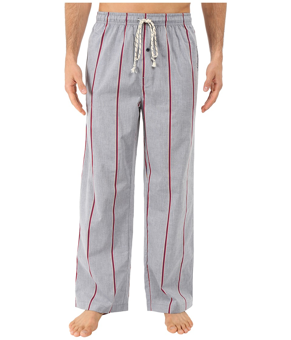Kenneth Cole Reaction - Woven Pants (Navy Hollis Stripe) Men's Pajama