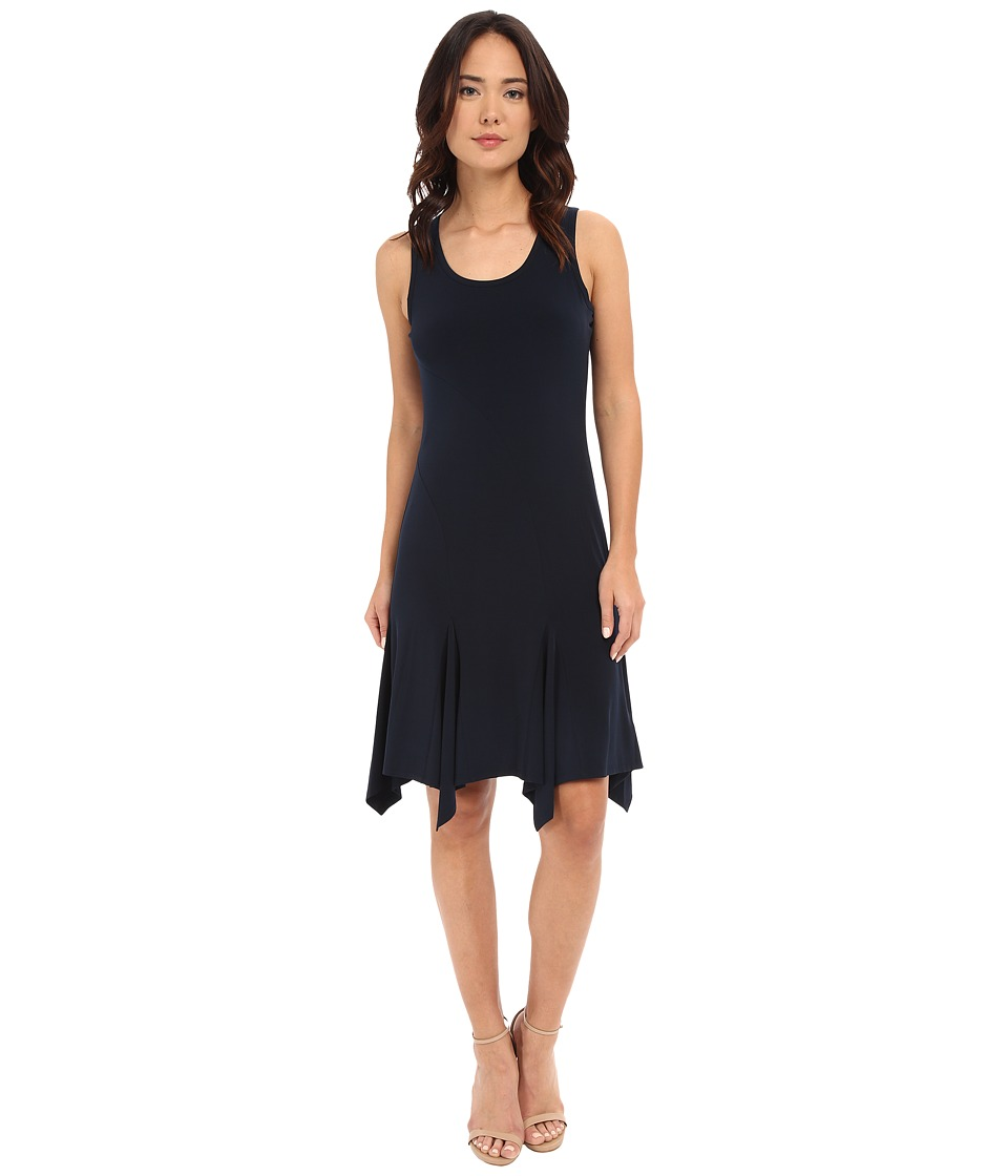 MICHAEL Michael Kors - Curve Seam Tank Dress (New Navy) Women's Dress