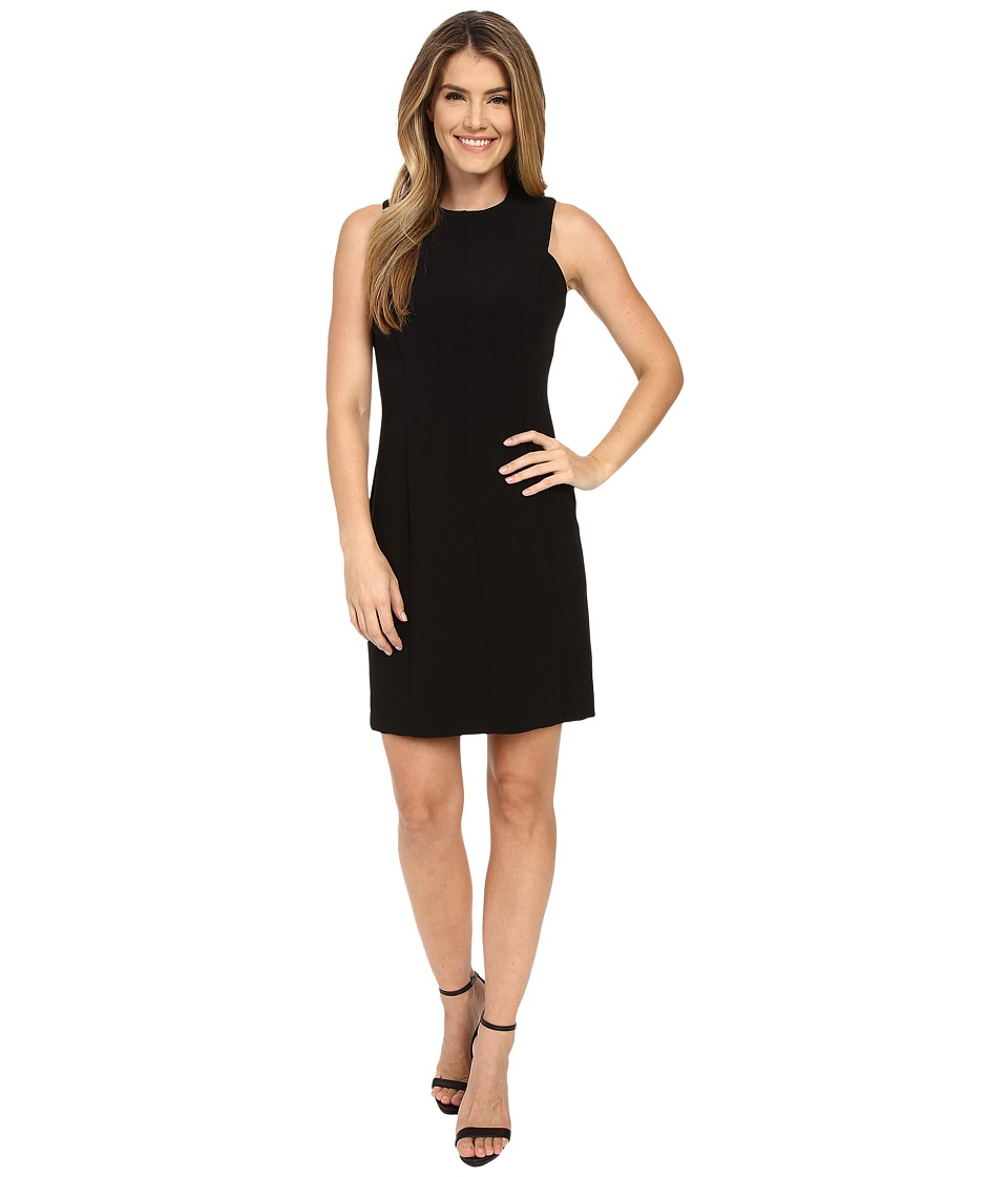 MICHAEL Michael Kors - Detail Fitted Dress (Black) Women's Dress