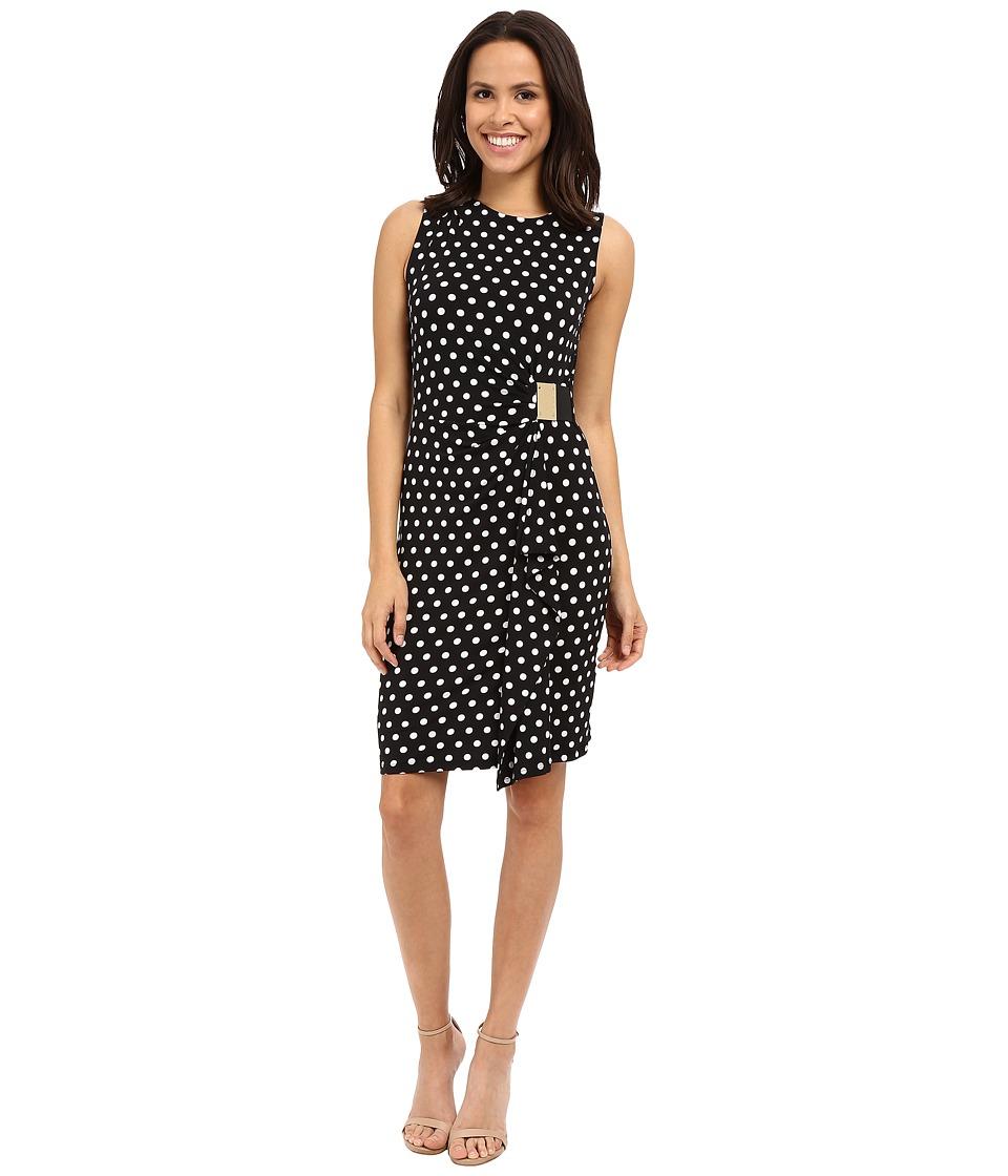 MICHAEL Michael Kors - Panma Logo Dress (Black) Women's Dress