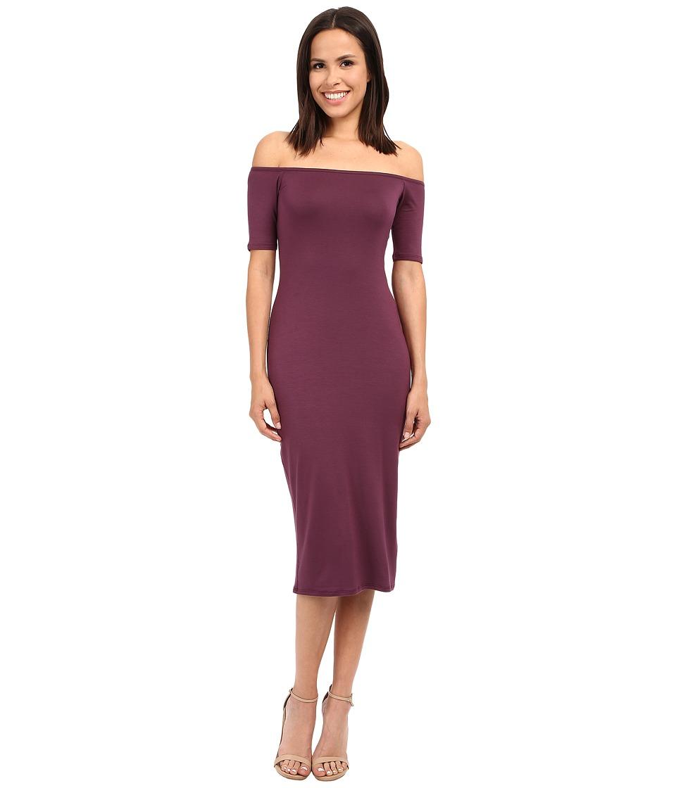 Rachel Pally - Mid-Length Jagger Dress (Currant) Women's Dress