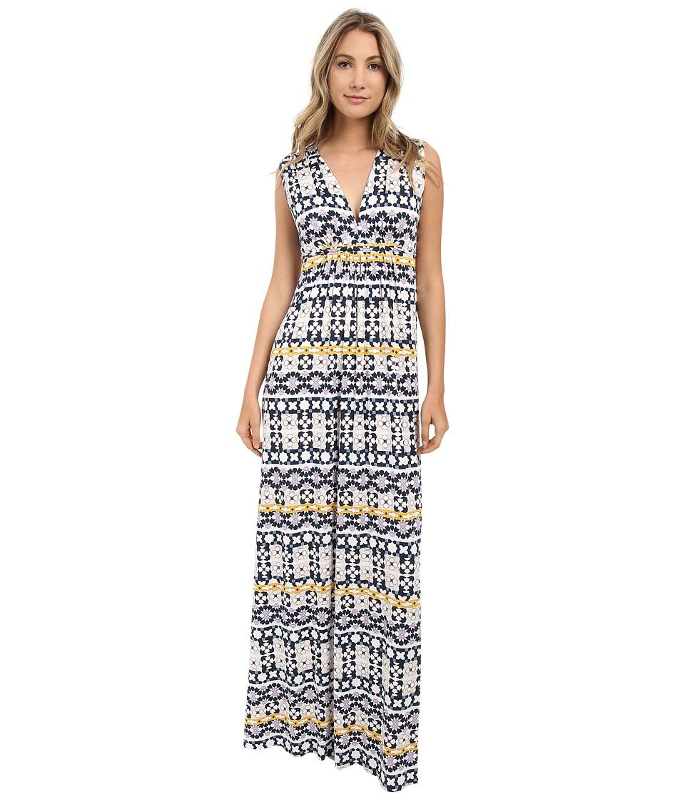 Rachel Pally Printed Long Sleeveless Caftan Dress (Morrocco Print) Women