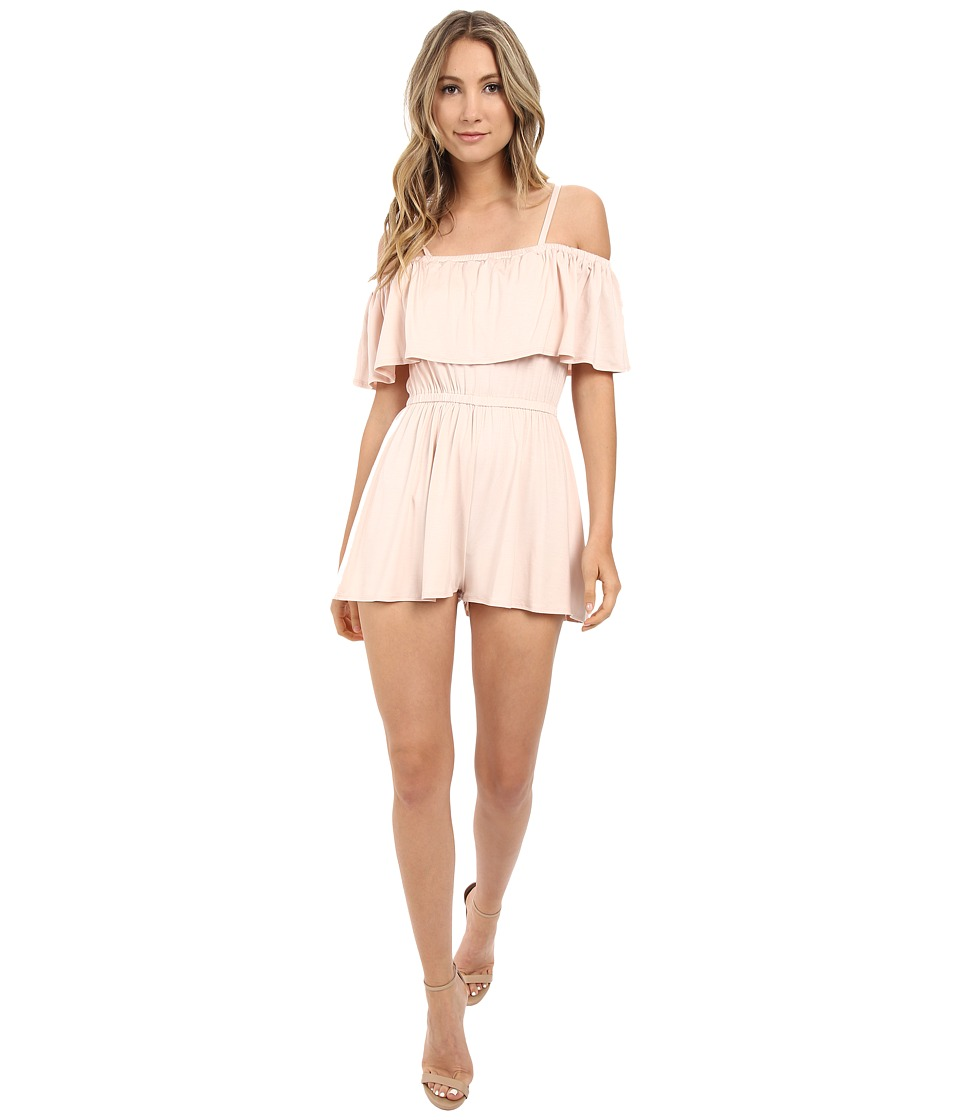 Rachel Pally - Tobias Playsuit (Champagne) Women's Jumpsuit & Rompers One Piece