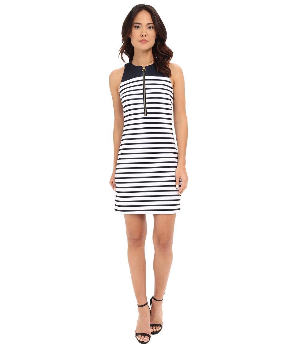 MICHAEL Michael Kors - Norwood Neoprene Dress (New Navy) Women's Dress