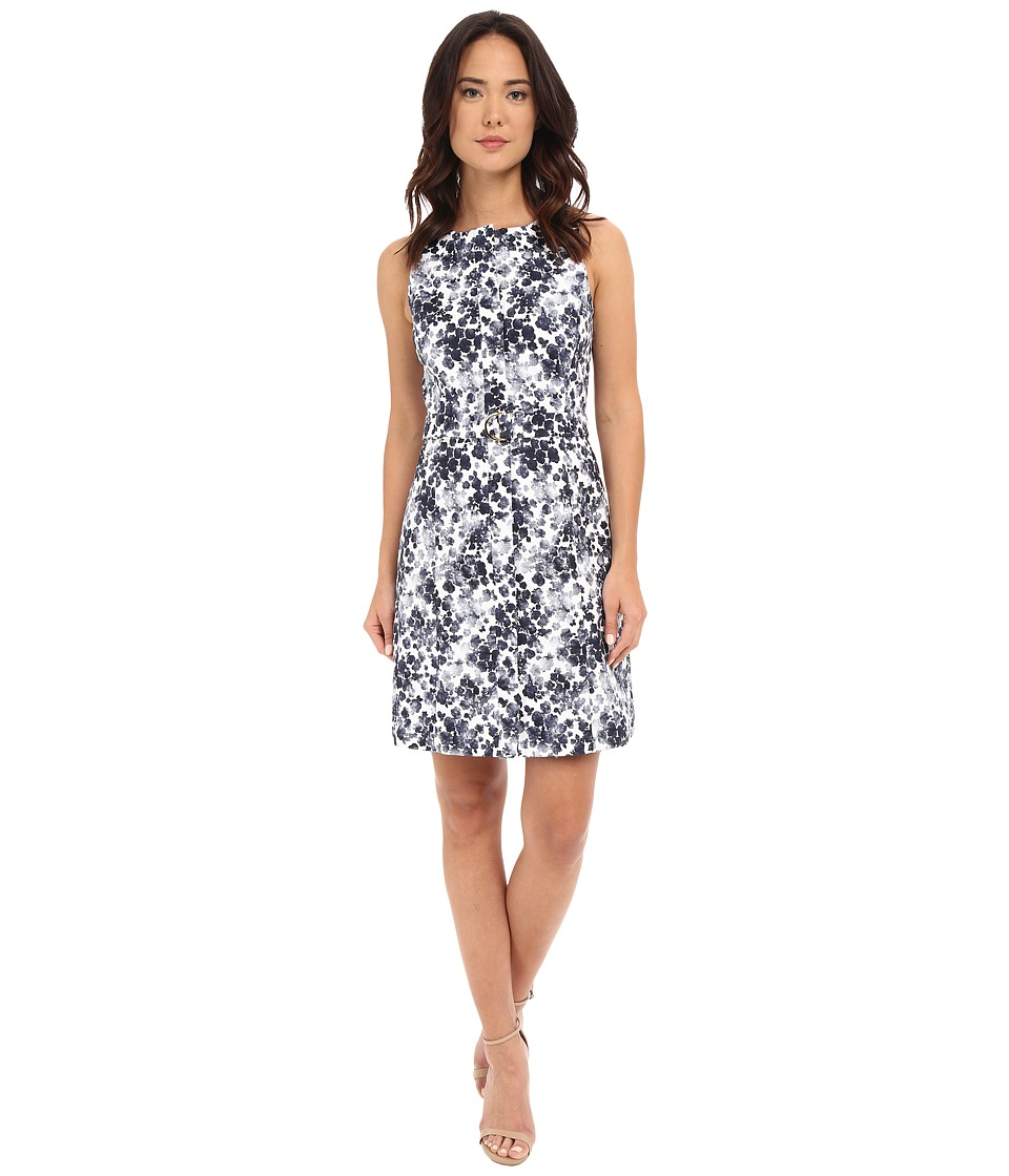 MICHAEL Michael Kors - Aline Belt Dress (New Navy) Women's Dress