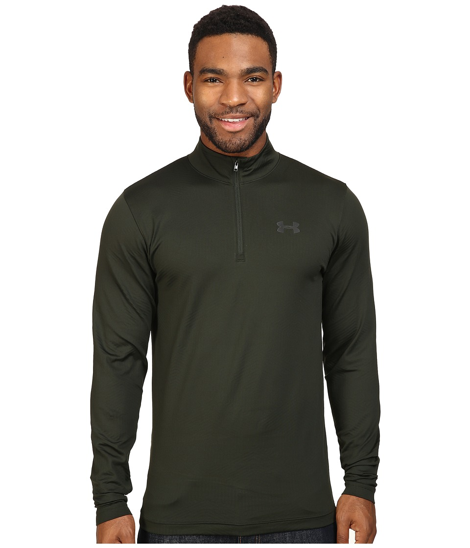 Under Armour - UA ColdGear(r) Infrared Evo CG 1/4 Zip (Artillery Green/Black) Men's Long Sleeve Pullover