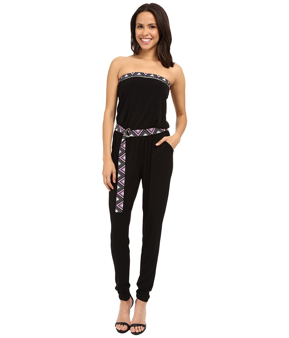 MICHAEL Michael Kors - D Ring Border Jumpsuit (Plum Blossom) Women's Jumpsuit & Rompers One Piece