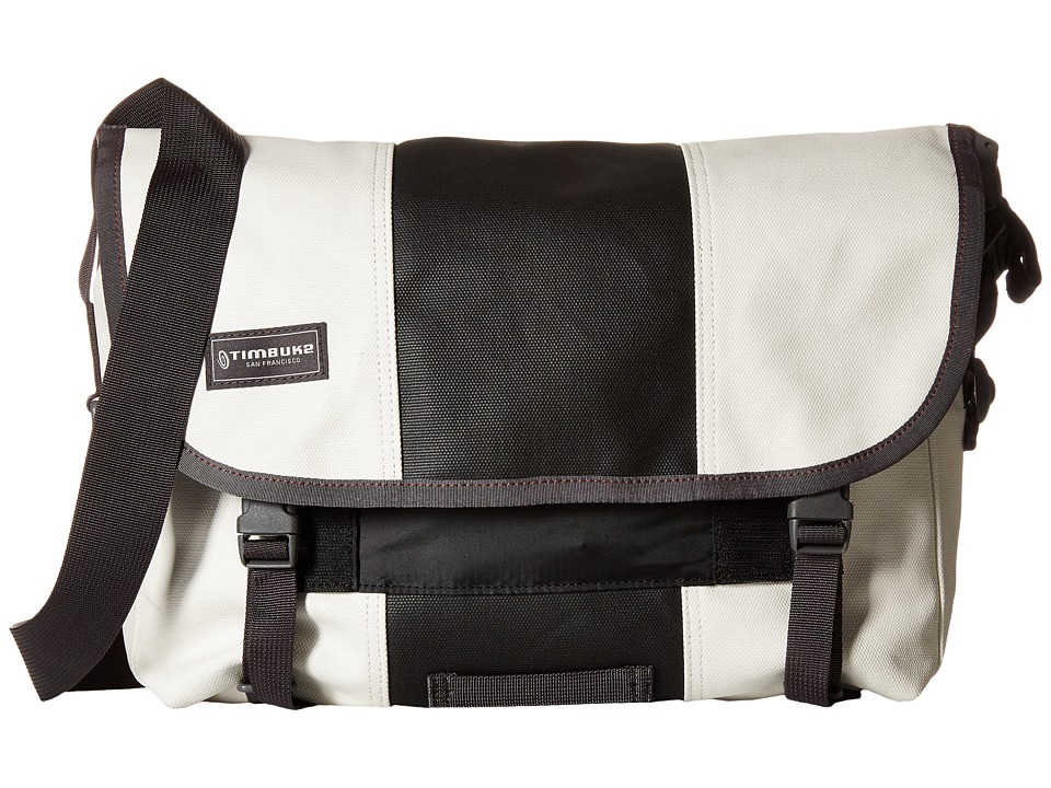 Timbuk2 - Classic Messenger Bag - Small (Heirloom White/Black) Messenger Bags