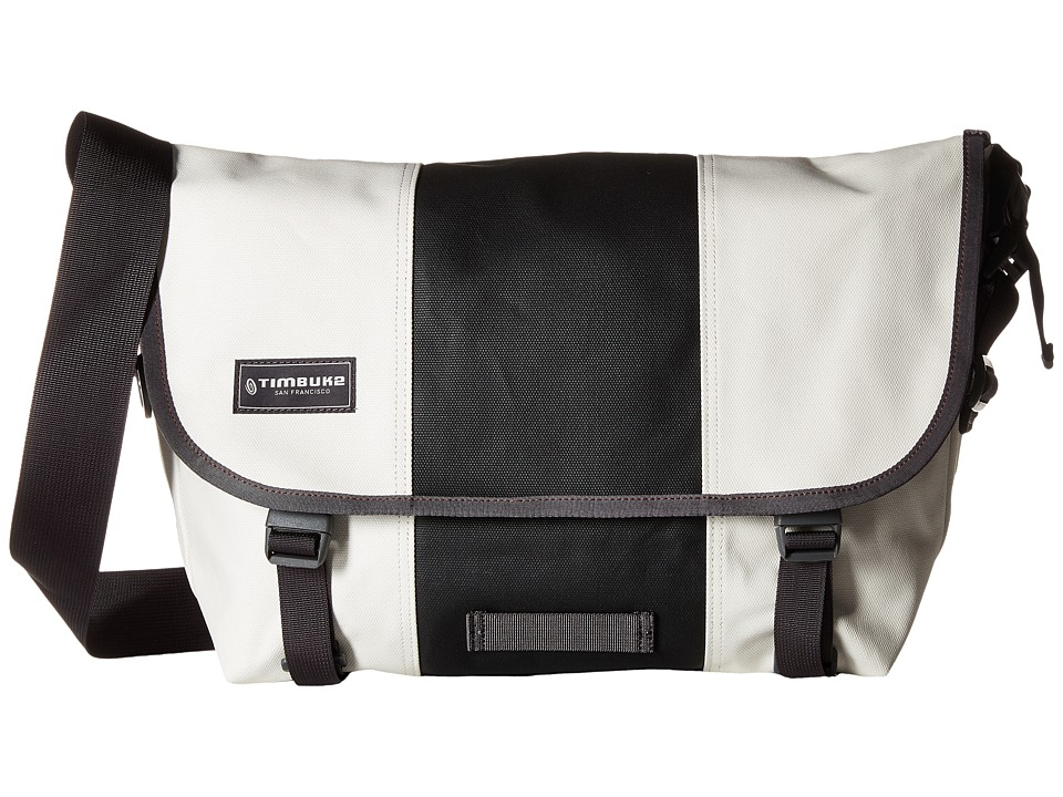Timbuk2 - Classic Messenger Bag - Medium (Heirloom White/Black) Messenger Bags