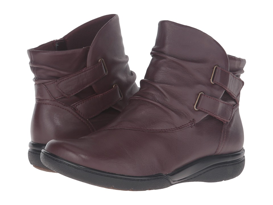 Clarks Kearns Garden (Oxblood Leather) Women