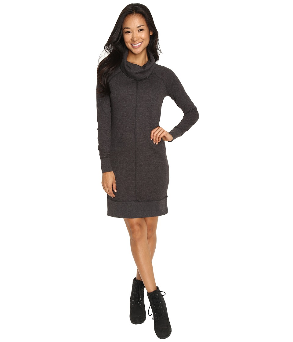 Woolrich - Fairmount Waffle Dress (Coal) Women's Dress