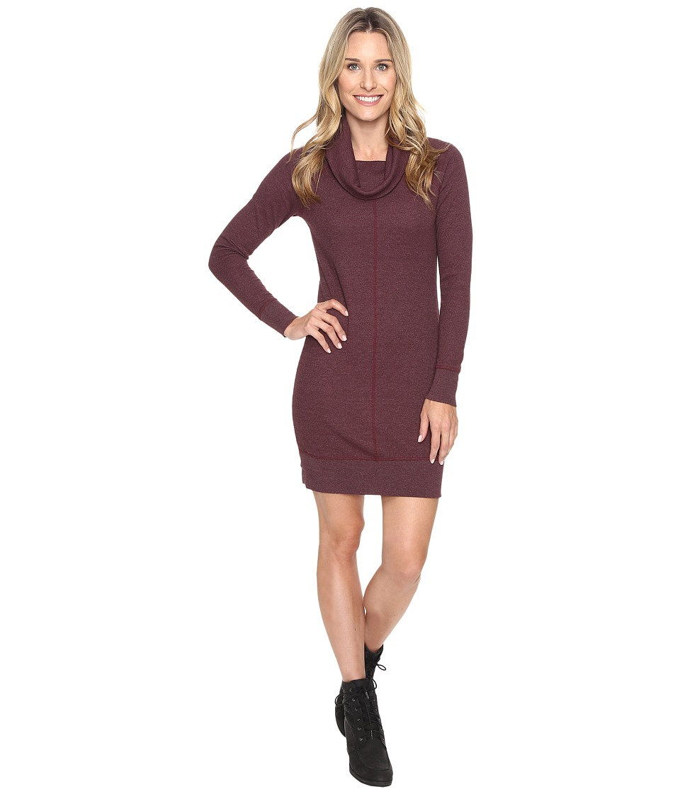 Woolrich - Fairmount Waffle Dress (Wine) Women's Dress