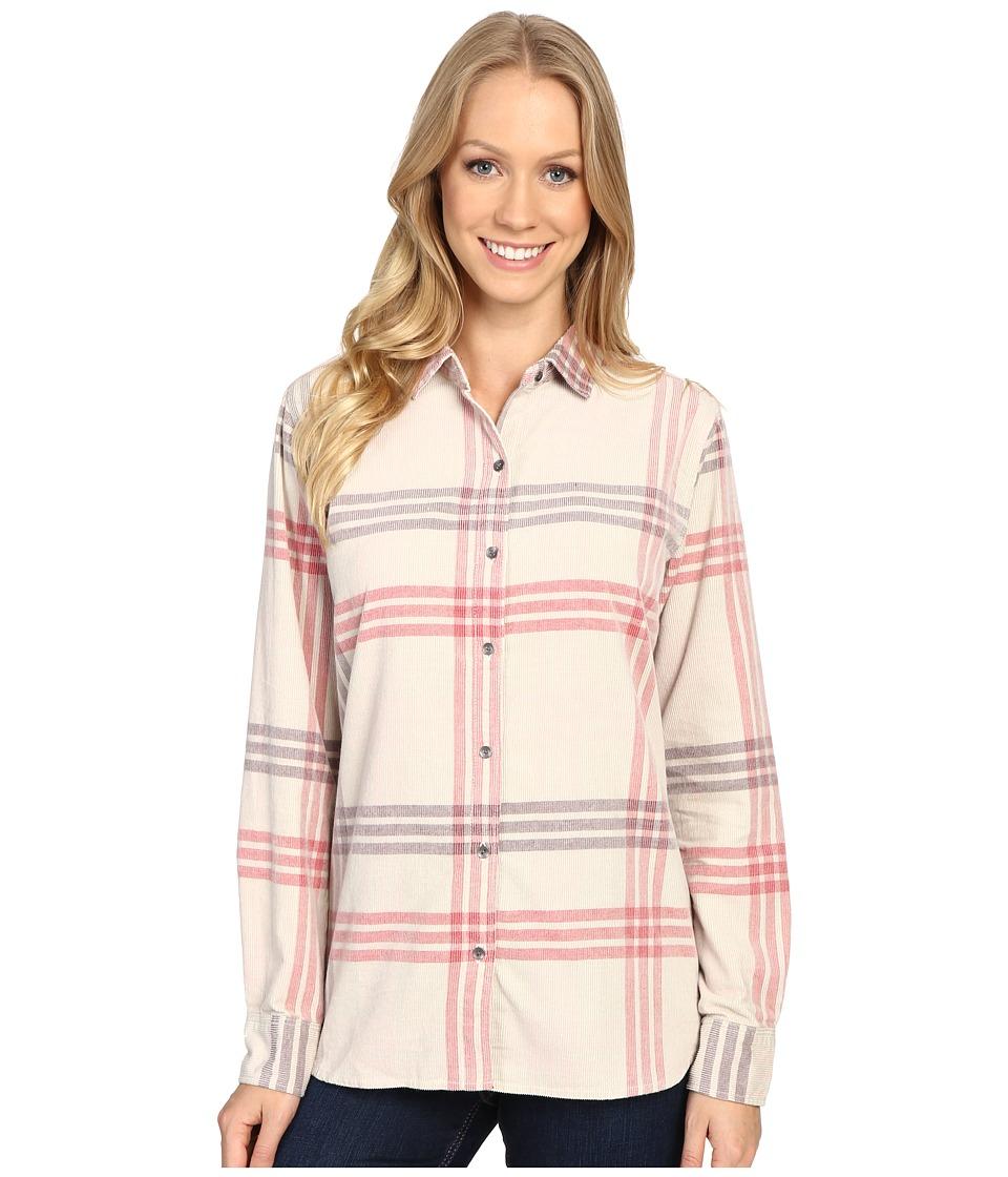 Woolrich - Rappel Cord Shirt (Silver Gray) Women's Long Sleeve Button Up