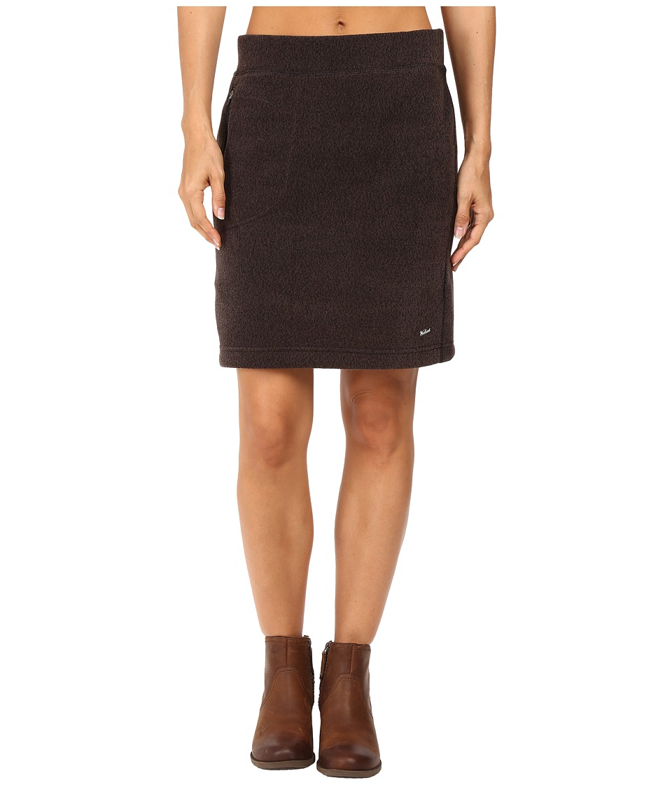 Woolrich - Double Creek Fleece Skirt (Black) Women's Skirt