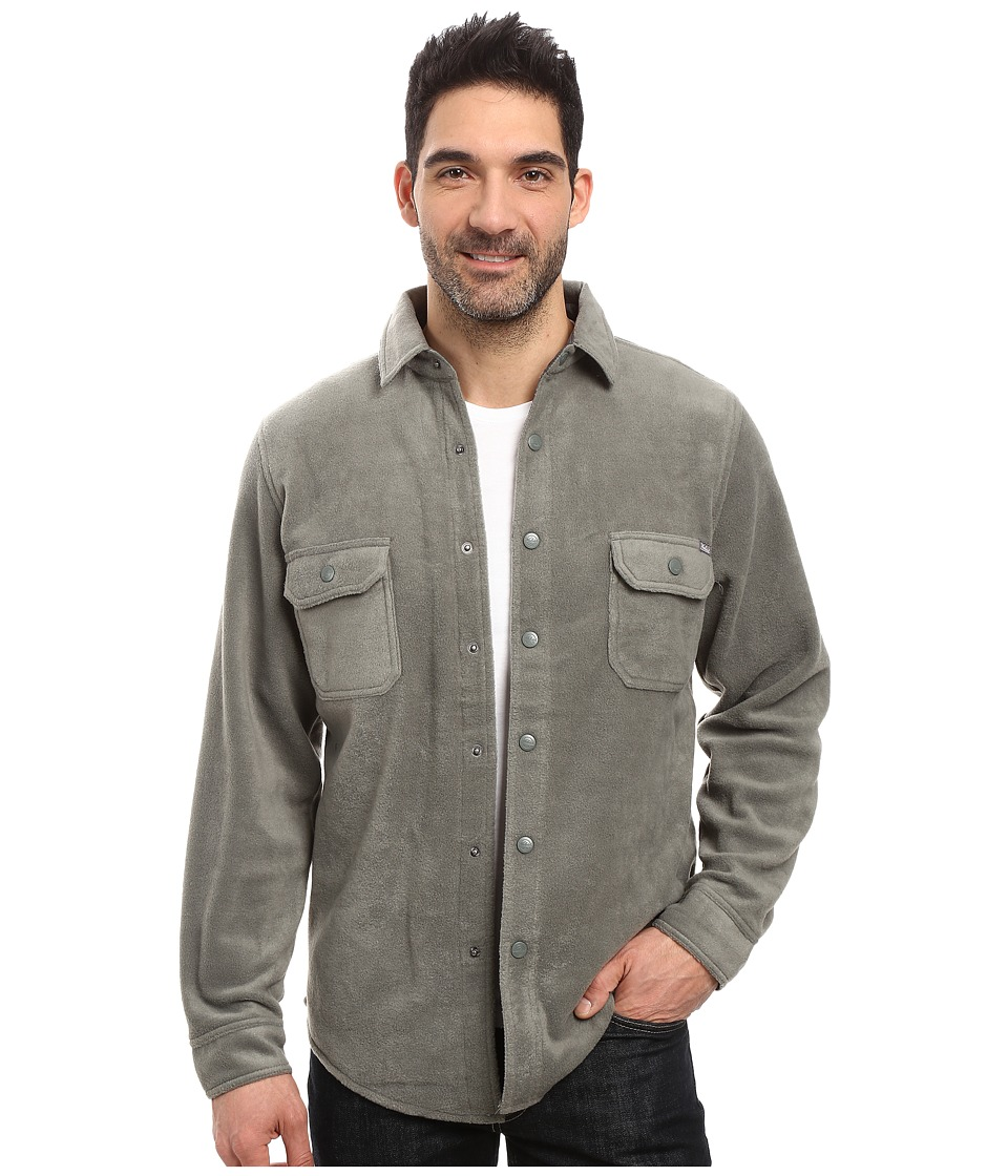 Woolrich - Andes Fleece Shirt Jacket (Field Gray) Men's Coat