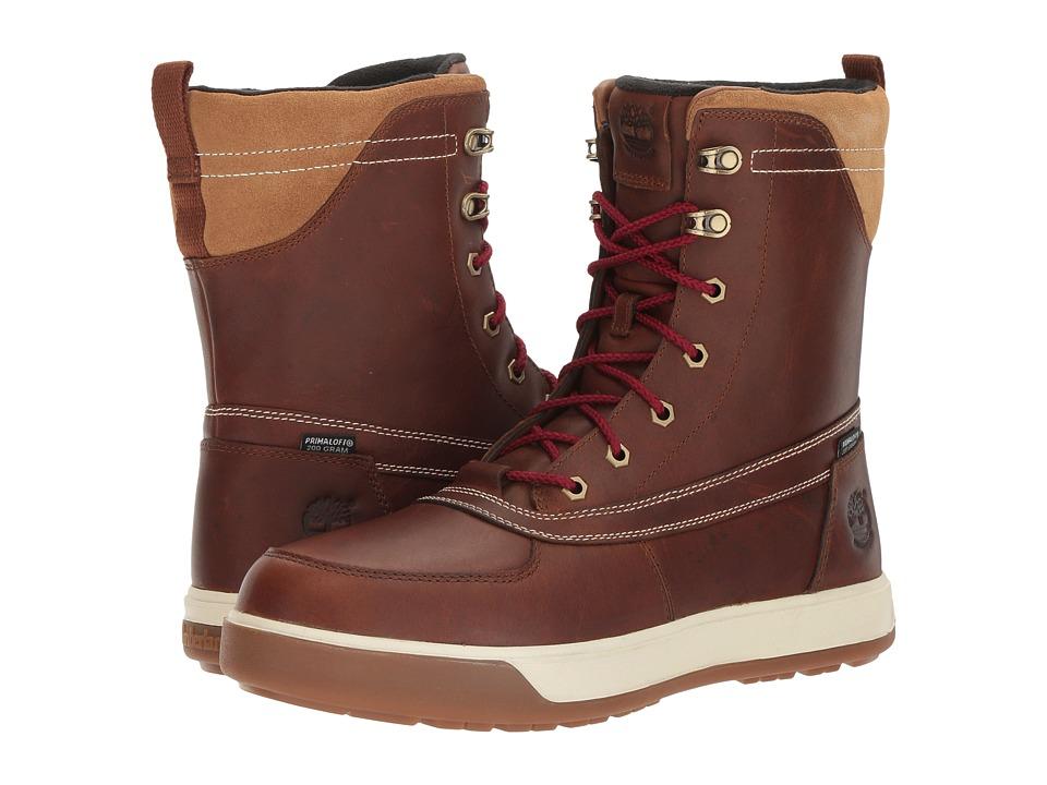 Timberland - Tenmile Waterproof Boot (Medium Brown Full Grain) Men's Waterproof Boots