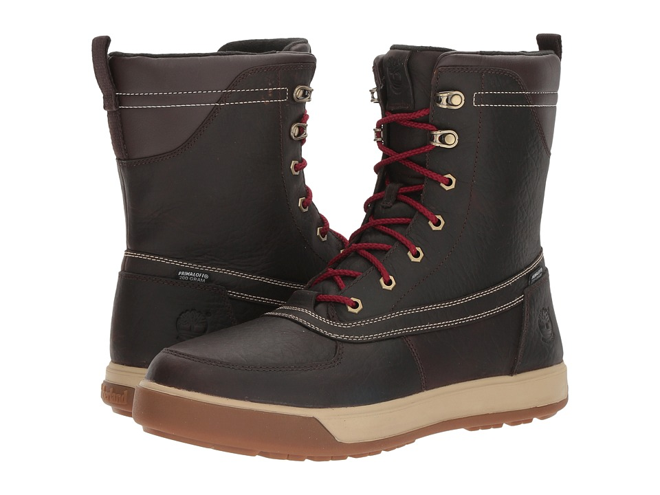 Timberland - Tenmile Waterproof Boot (Dark Brown Full Grain) Men's Waterproof Boots