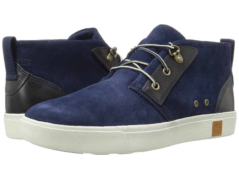 Timberland - Amherst Chukka (Navy Suede) Men's Lace-up Boots
