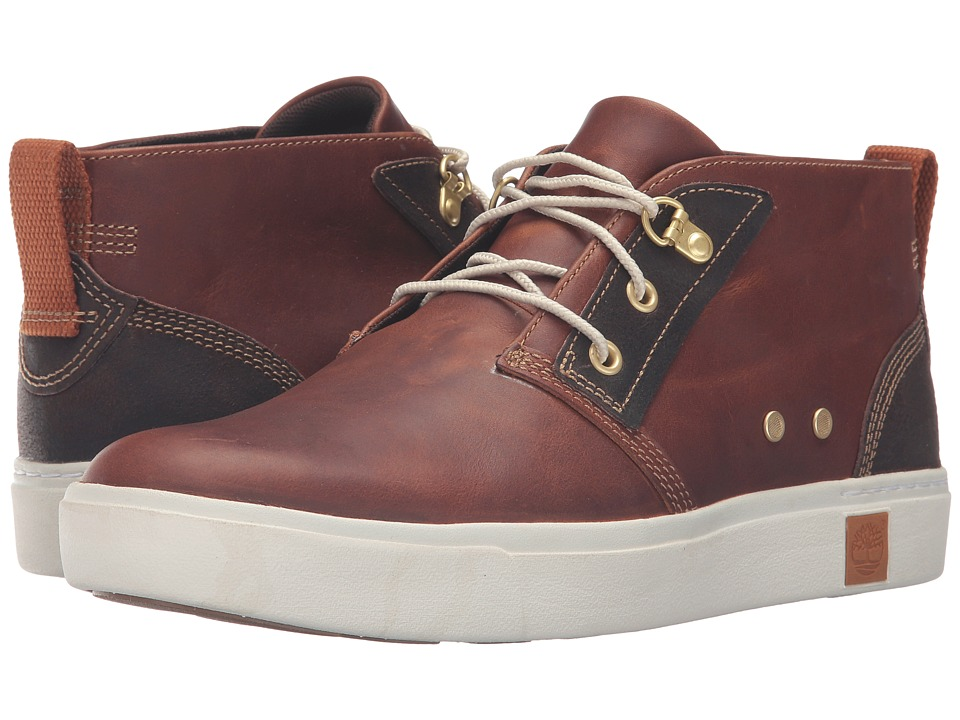 Timberland Amherst Chukka (Medium Brown Full Grain) Men