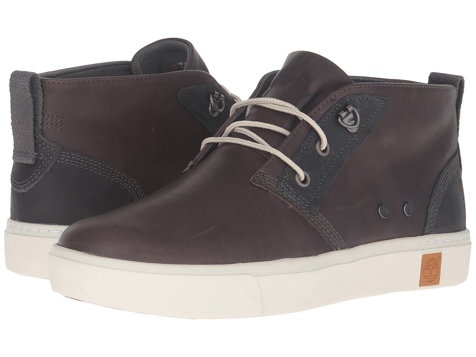 Timberland Amherst Chukka (Dark Grey Full Grain) Men