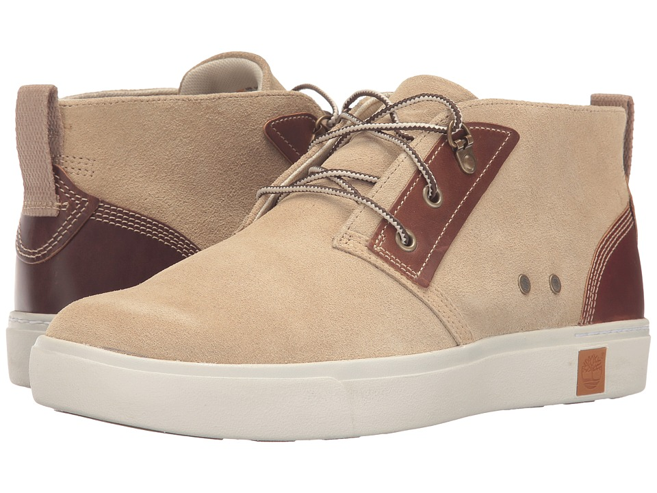 Timberland - Amherst Chukka (Tan Suede) Men's Lace-up Boots