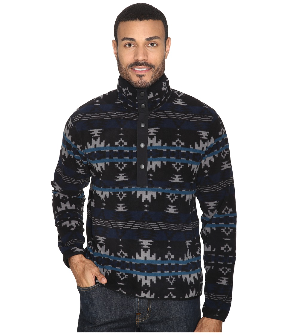 Woolrich - Trail Blazing Pullover (Black) Men's Sweatshirt