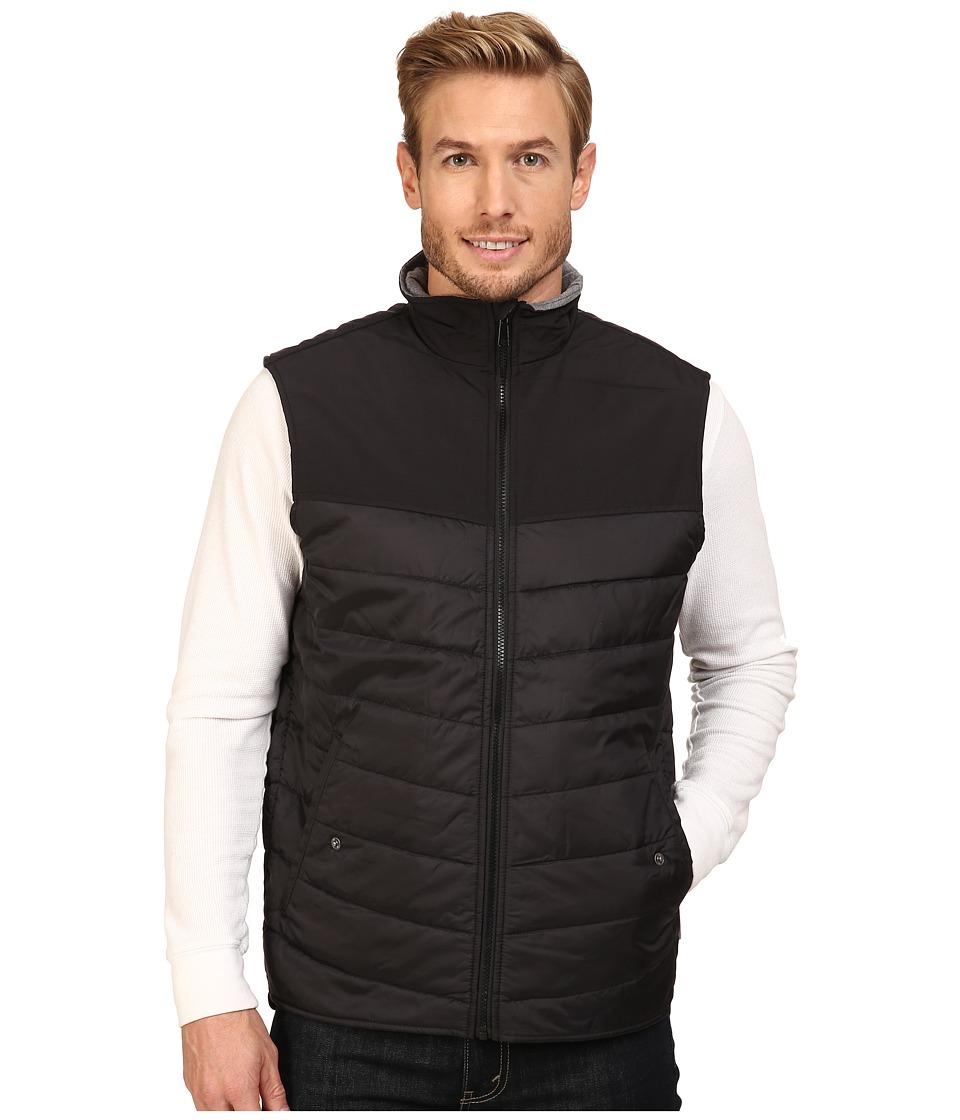 Woolrich - Wool Loft Insulated Vest (Black) Men's Vest