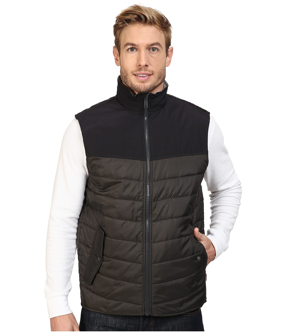Woolrich Wool Loft Insulated Vest (Matte Gray) Men