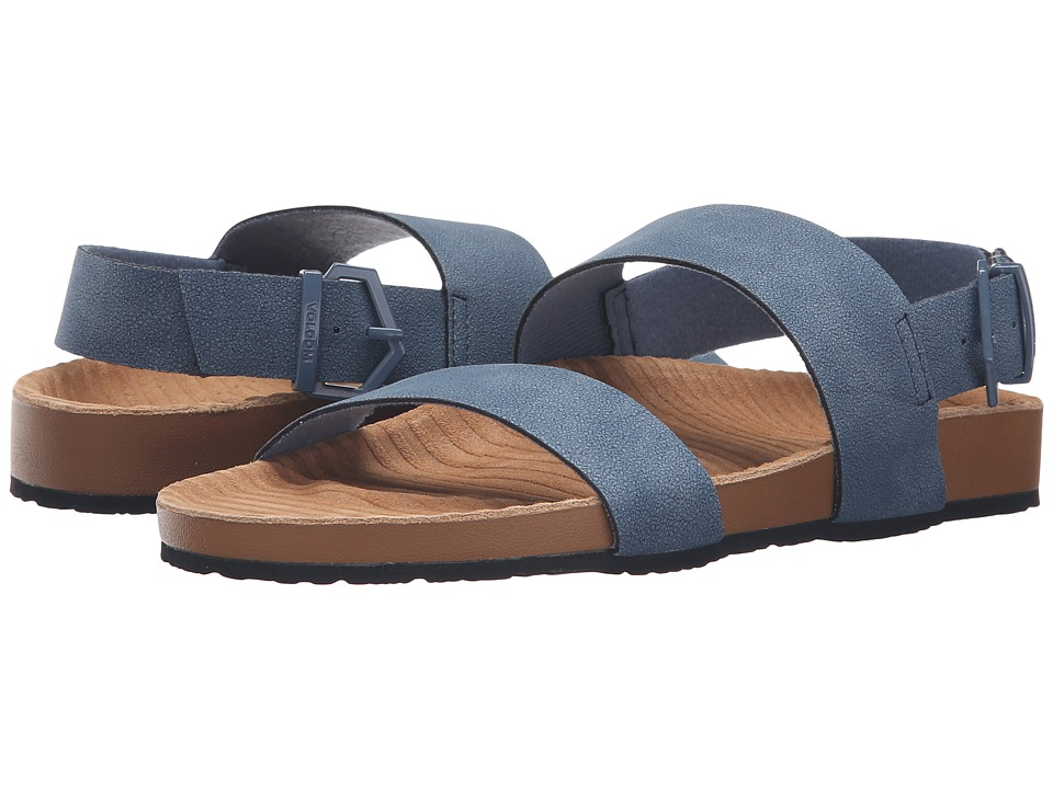 Volcom - Unwind Sandal (Chambray) Women's Sandals