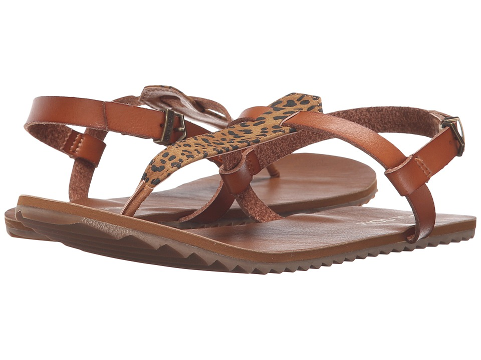 Volcom - Maya Sandal (Cheetah) Women's Sandals