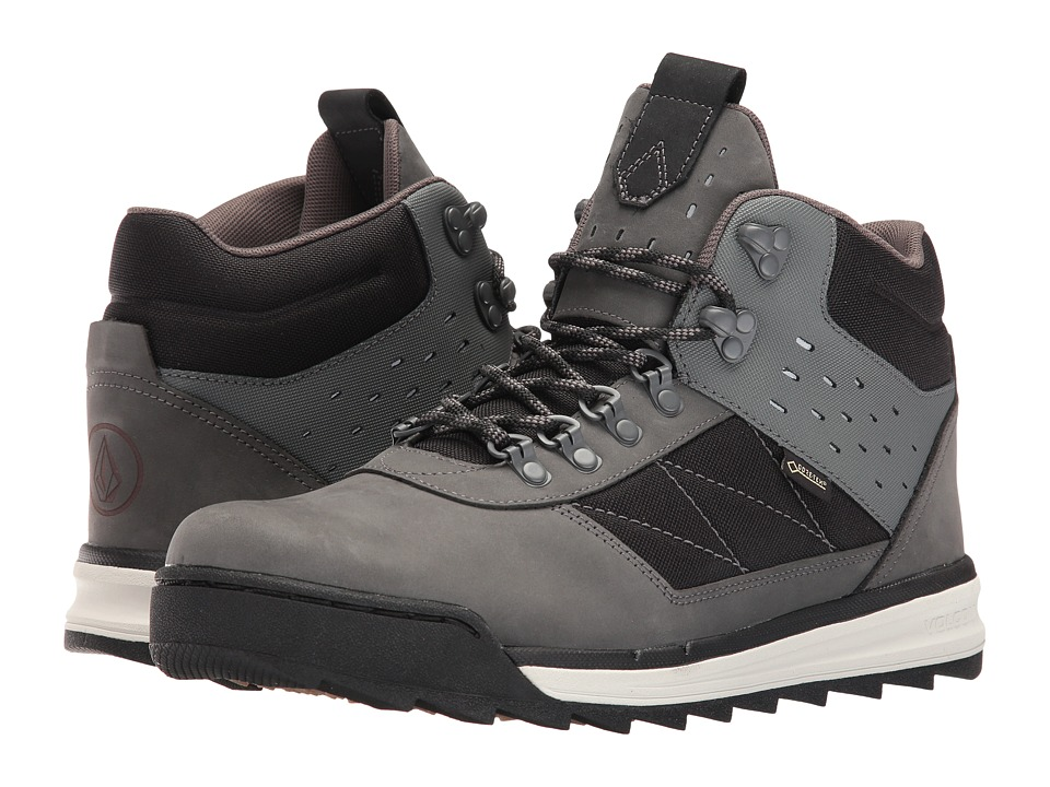Volcom - Shelterlen GTX Boot (Smoke) Men's Lace-up Boots