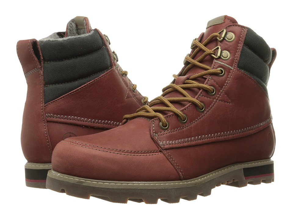 Volcom - Sub Zero 2 (Deep Red) Men's Lace-up Boots