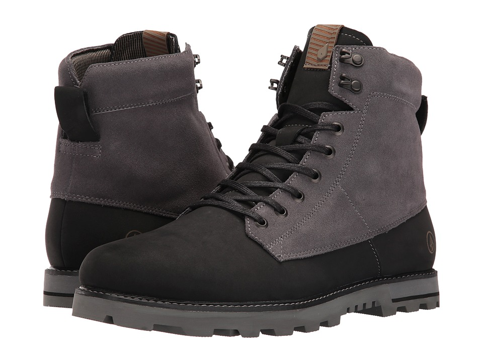 Volcom - Smithington 2 (Smoke) Men's Lace-up Boots