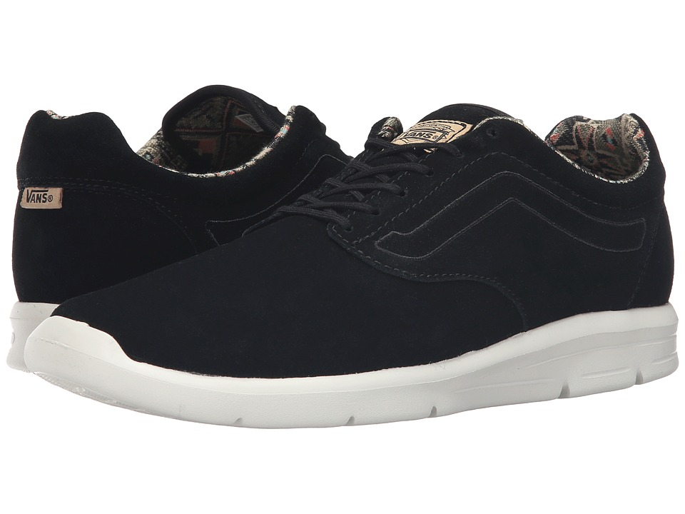 Vans - ISO 1.5 ((Moroccan Geo) Black/Classic White) Men's Skate Shoes