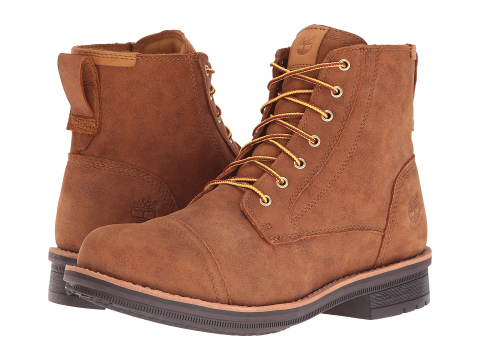 Timberland - Willoughby 6 Waterproof Boot (Wheat Full Grain) Men's Work Boots